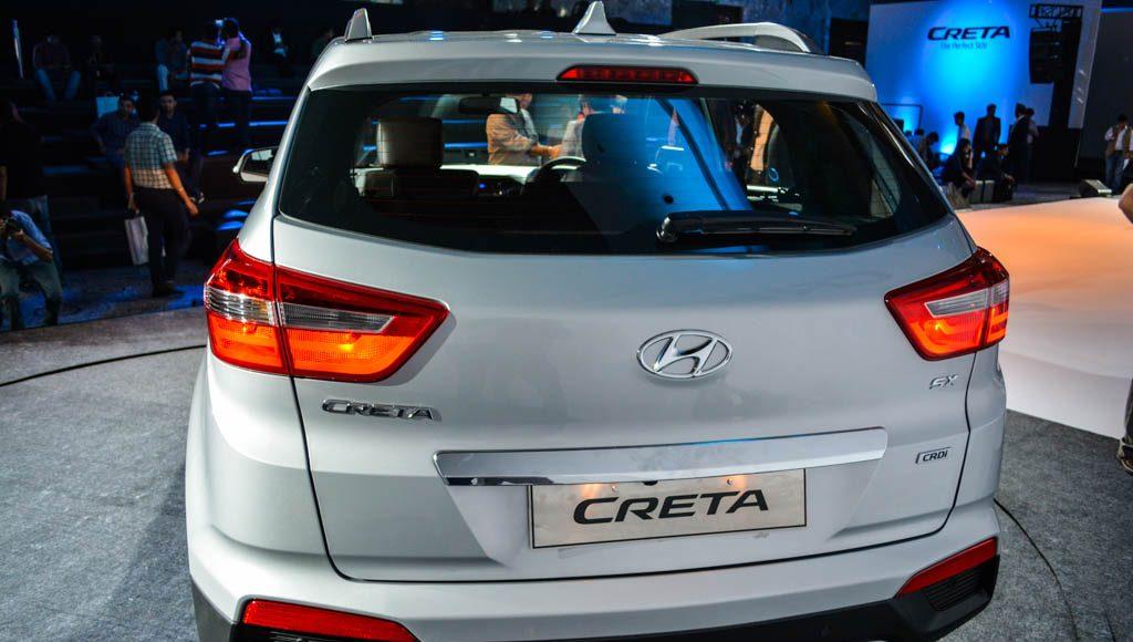 2015 Hyundai Creta rear
