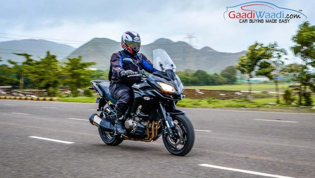 2015 Kawasaki Versys Performance