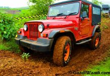 2015 Mahindra Thar facelift india