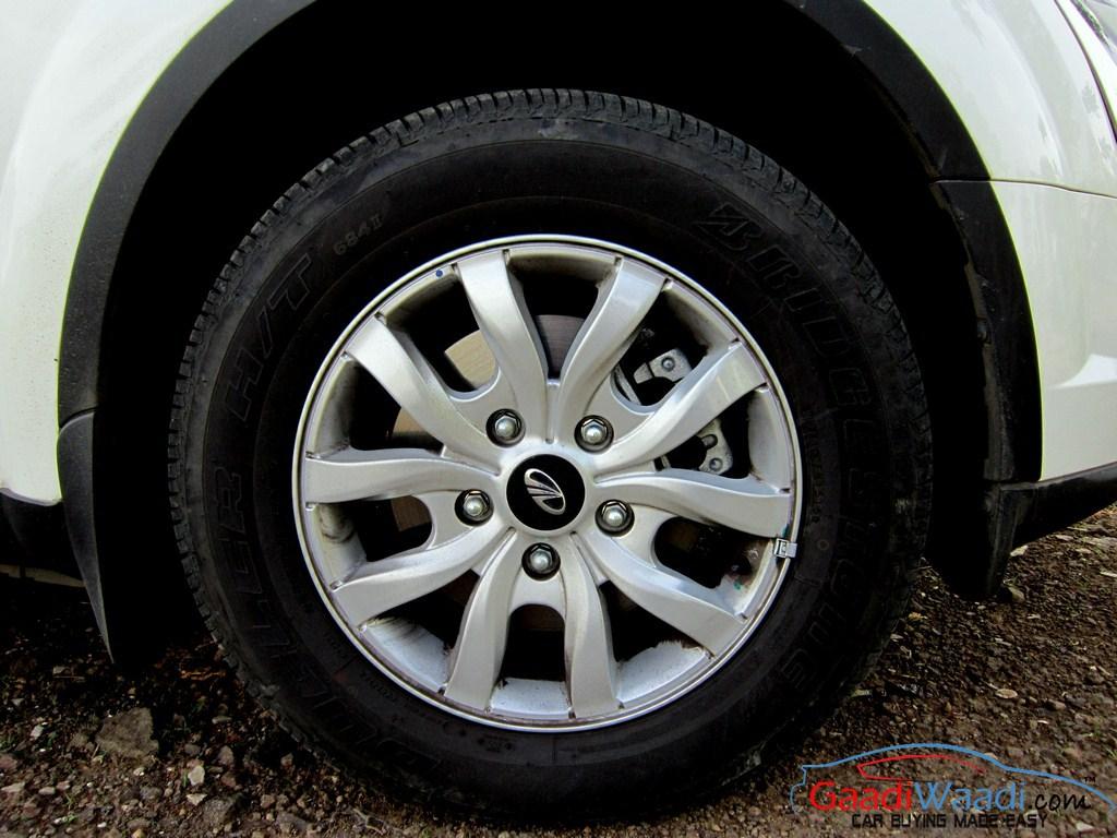 Tnt Auto Sales >> 2015 Mahindra XUV Alloy wheels - Gaadiwaadi.com