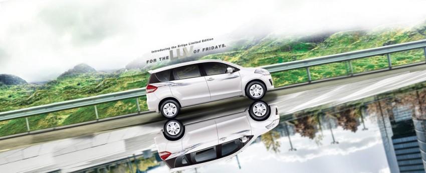 2015 Maruti Ertiga Limited Edition
