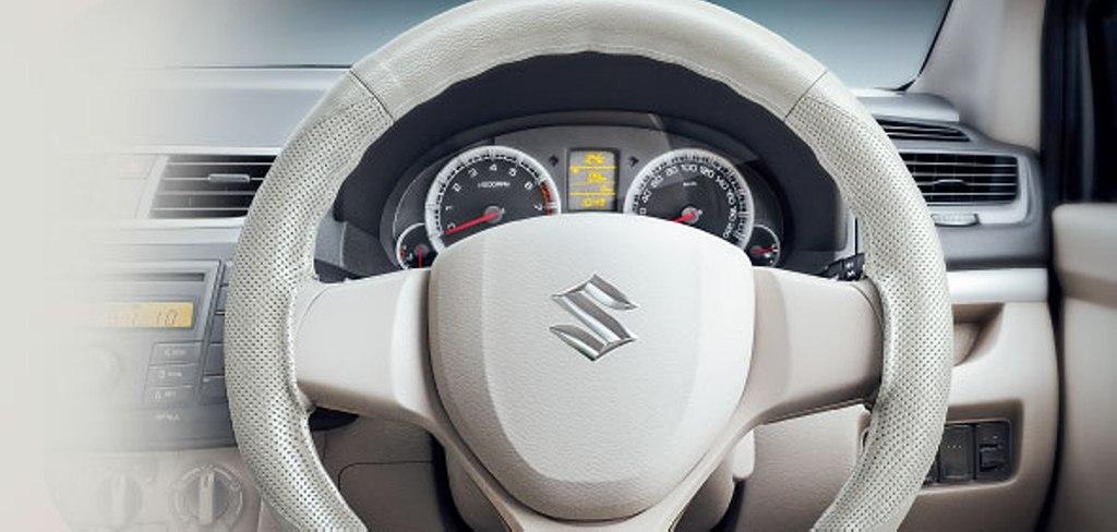 2015 Maruti Ertiga Limited Edition steering cover