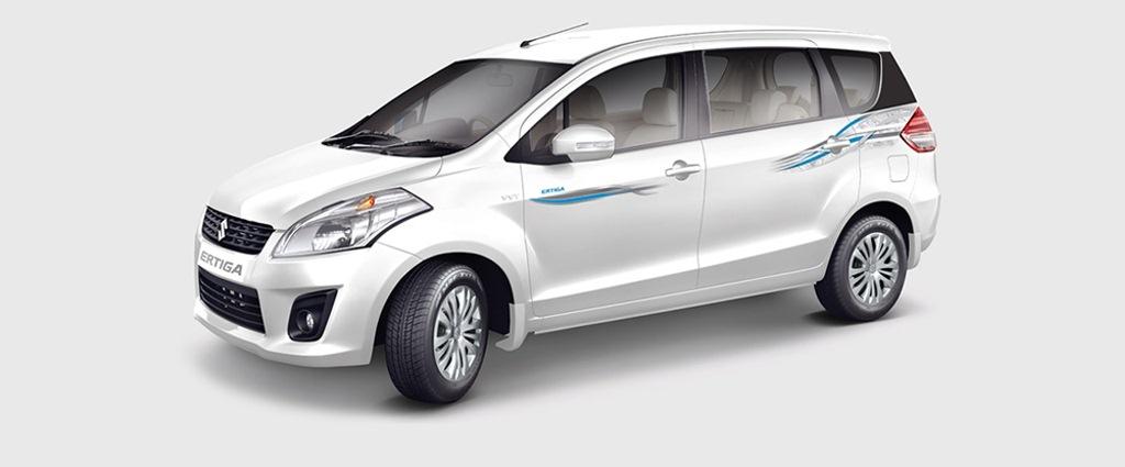 2015 Maruti Ertiga Limited Edition white