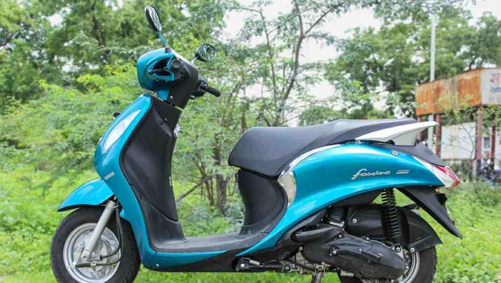 2015 Yamaha Fascino mileage