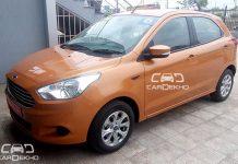 2015 ford figo new exterior