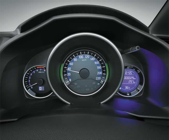 2015 honda jazz speedo