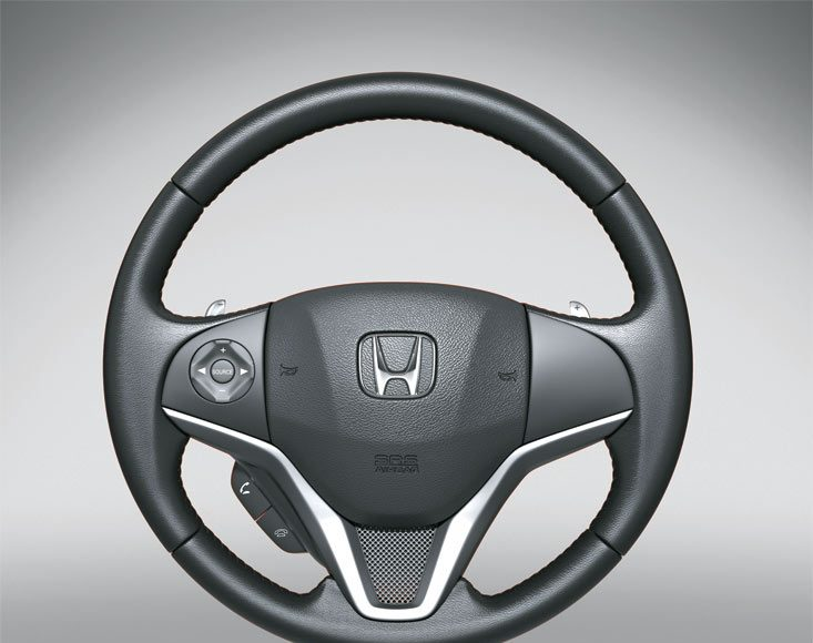 2015 honda jazz stearing wheel