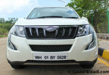 2015 mahindra xuv500 new front