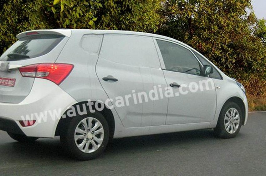 Hyundai Mpv And Compact Suv In Making Mpv Spied