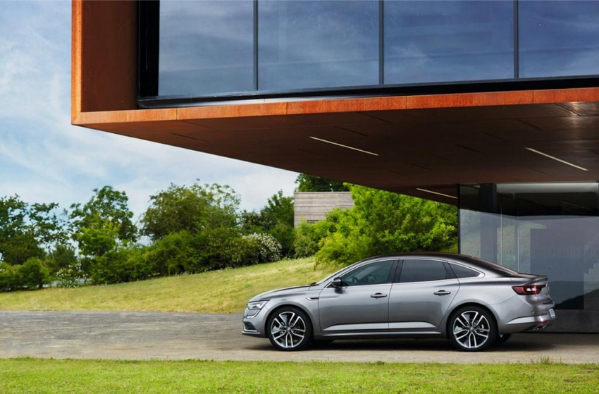 2016 Renault Talisman side profile