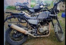 2016 Royal Enfield Himalayan Adventure spied