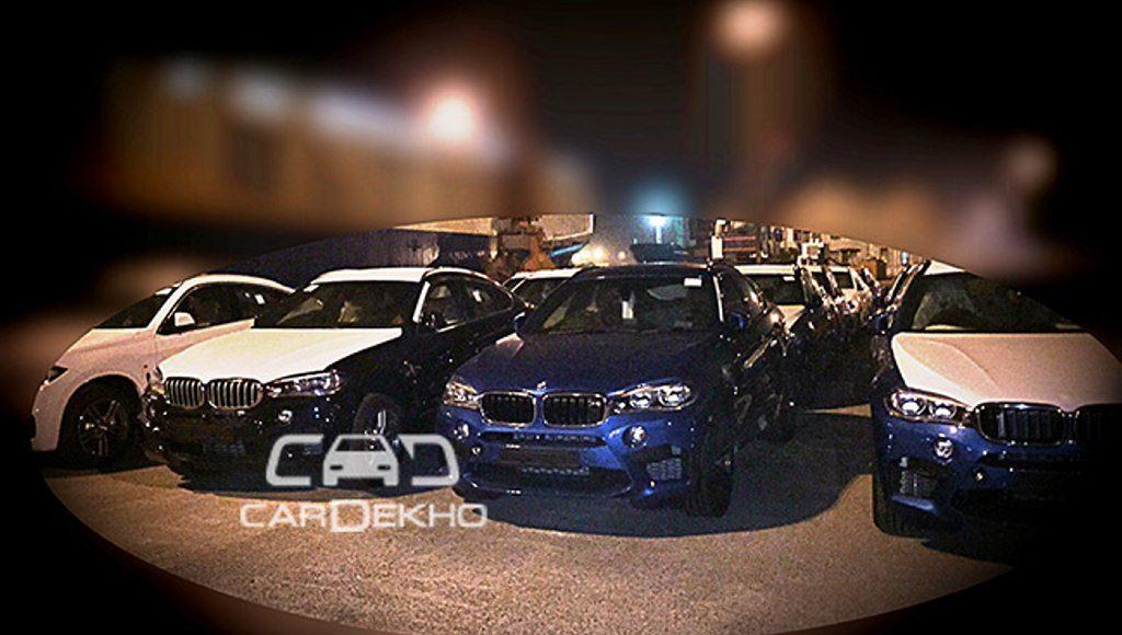 BMW X5 M Spied India