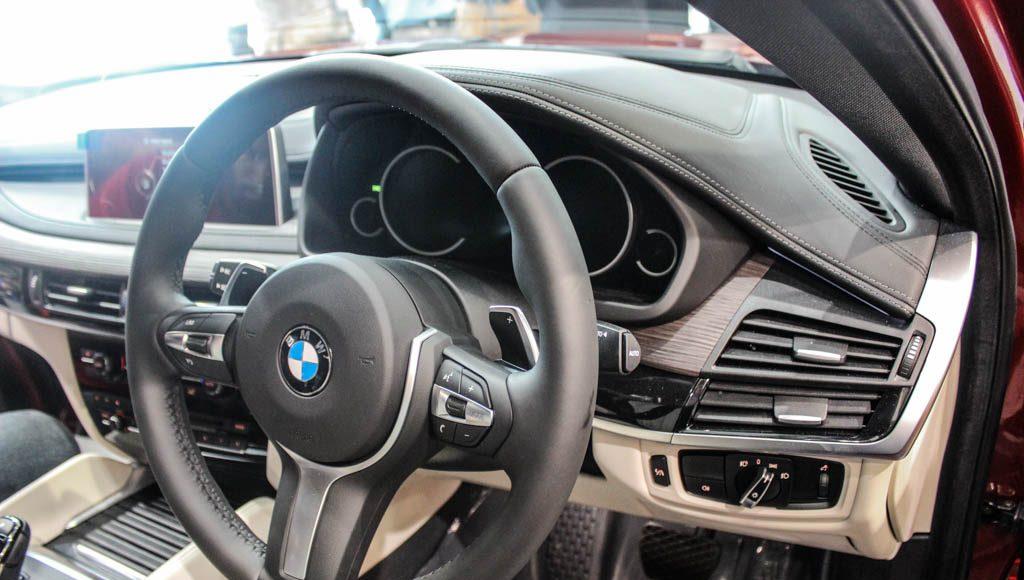 BMW X6M 2016 India interior