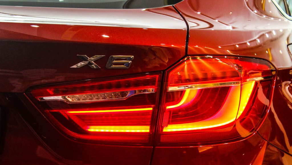 BMW X6M 2016 India tail-light