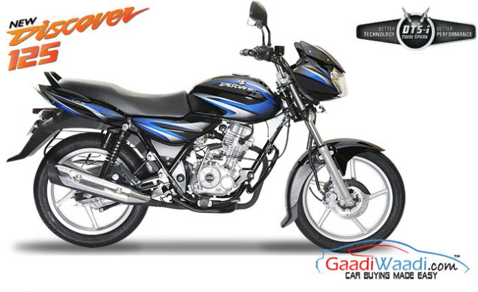 Bajaj 125 New Bajaj Discover 125 Cc With 2 Valves Launched