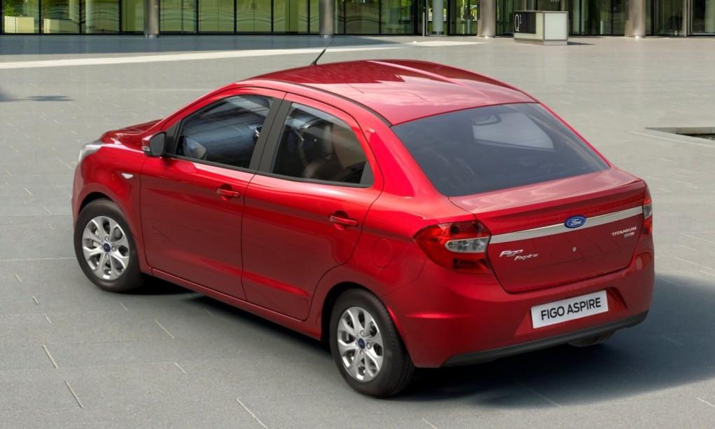 Ford Figo Aspire rear