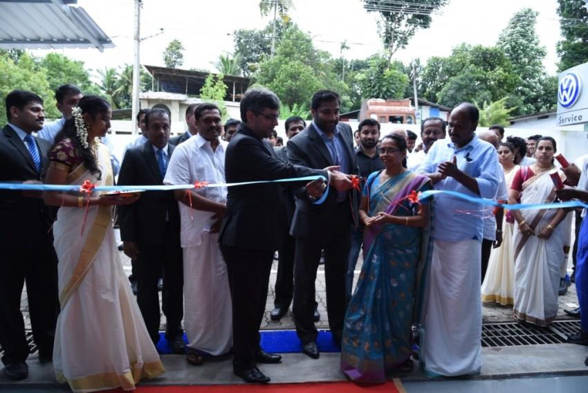 VW Inaugurates state-of-the-art workshop in Kollam