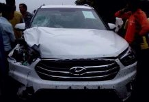 Hyundai Creta accident