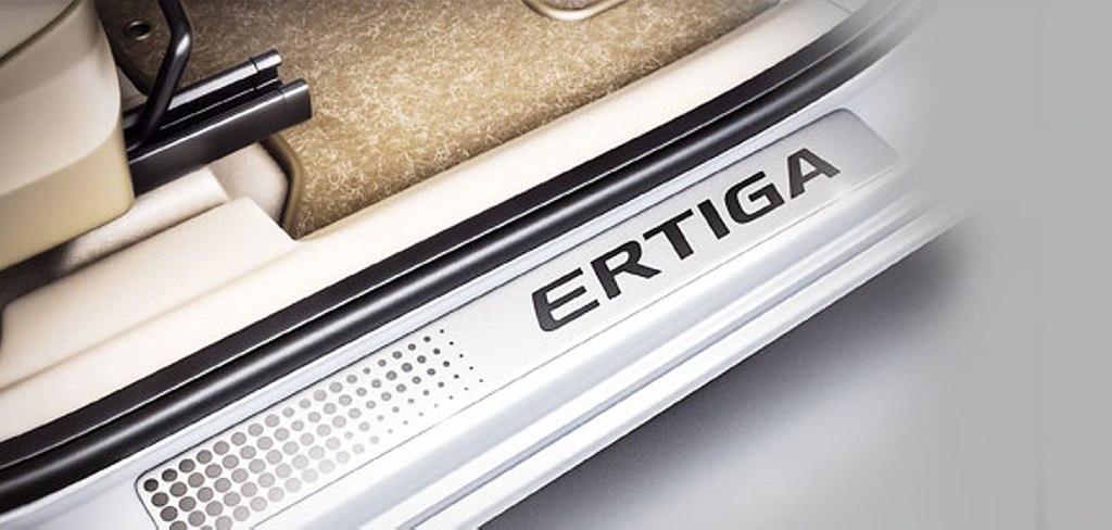 Limited Edition Ertiga Scuff plates
