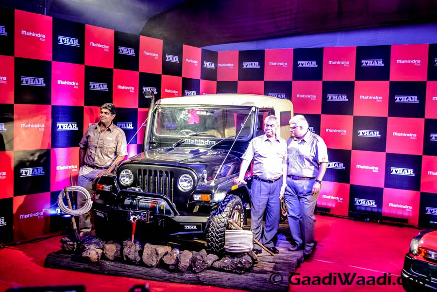 Mahindra Thar 2015 facelift launched (1)