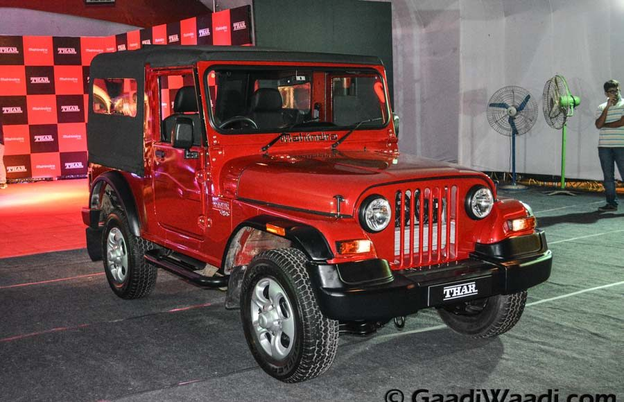 Mahindra Thar 2015 facelift launched (35)