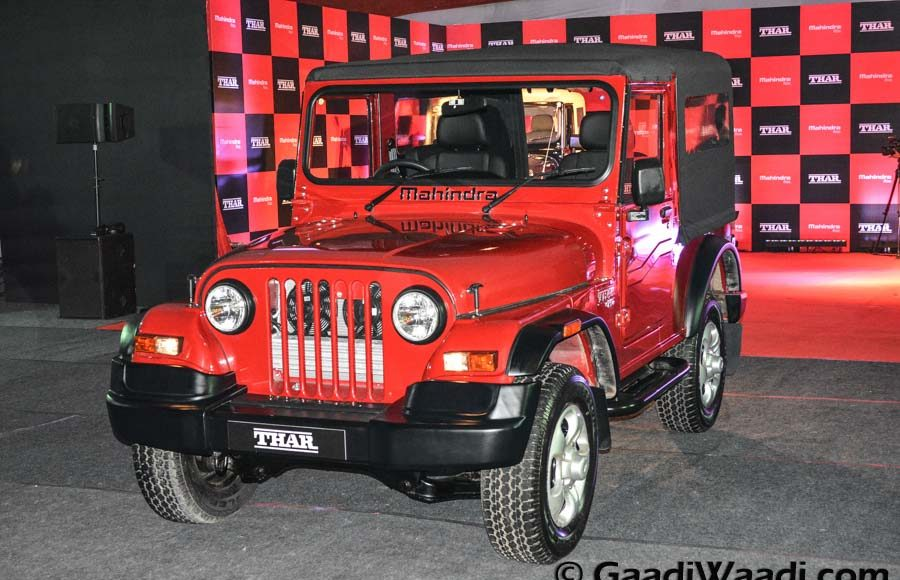 Mahindra Thar 2015 facelift launched (37)