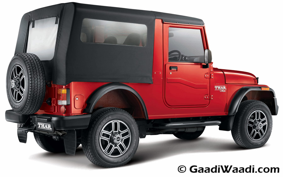 Mahindra Thar 2015 facelift launched (54)