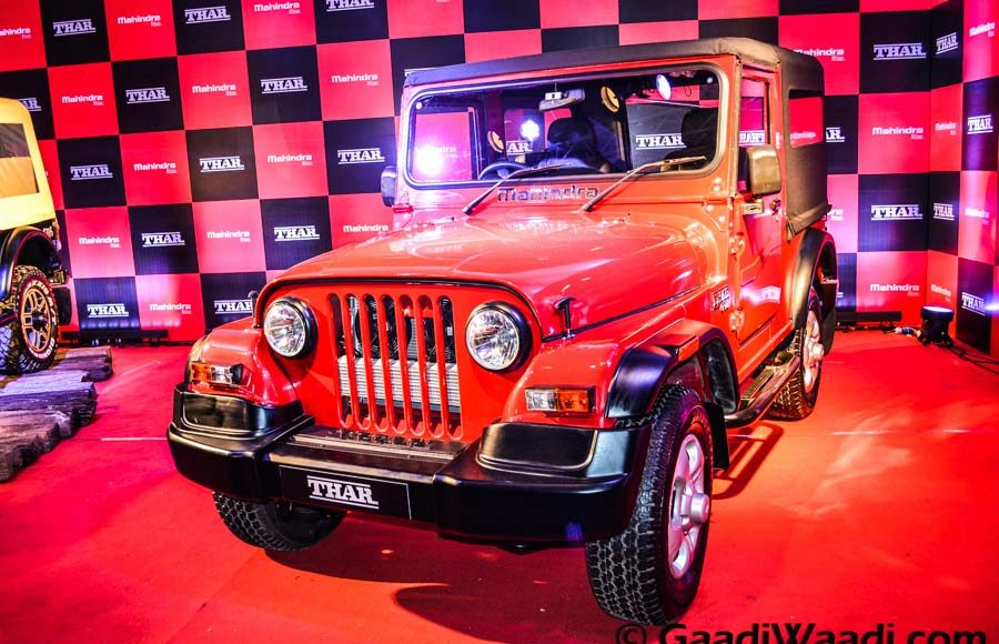 Mahindra Thar 2015 facelift launched (9)