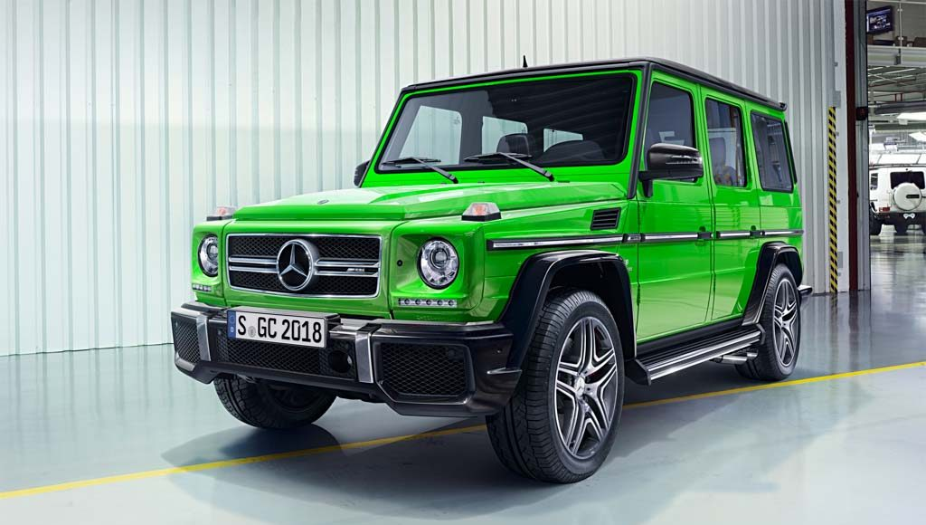 Mercedes-Benz AMG G63 Crazy Colour edition-4