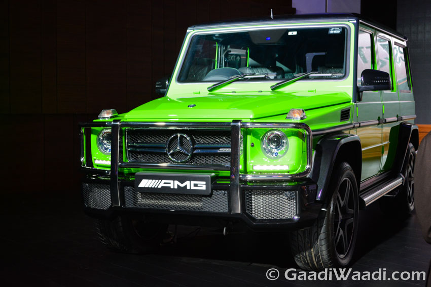 Mercedes-Benz AMG G 63 Crazy Colour edition front view