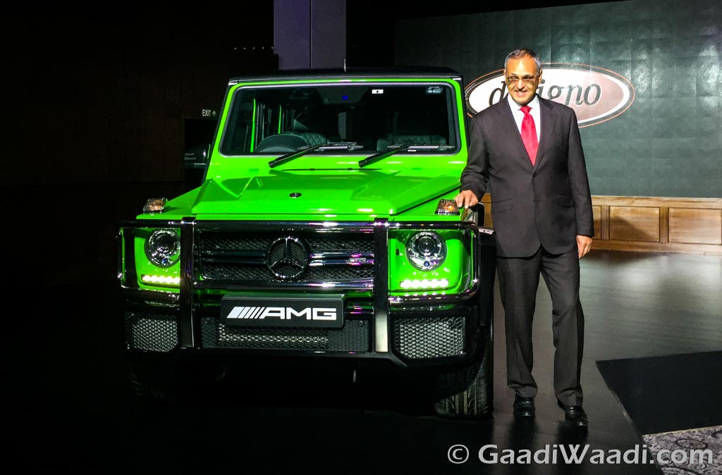 Mercedes-Benz AMG G63 Crazy Colour green-1