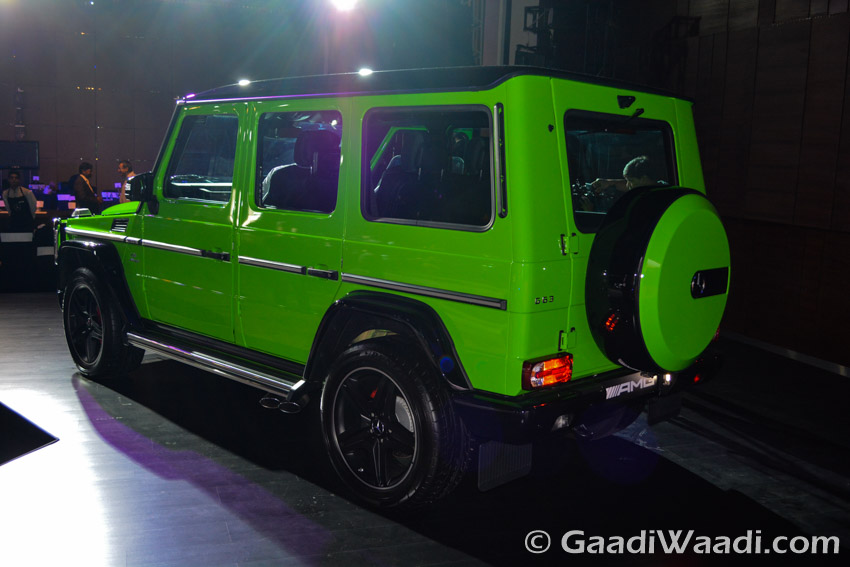 Mercedes-Benz AMG G63 Crazy Colour side left