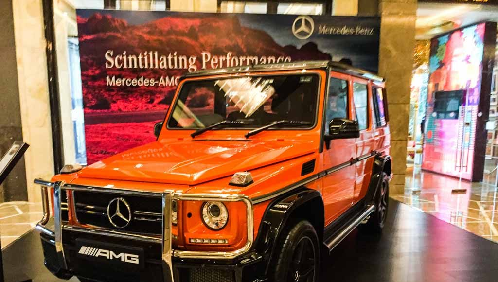 Mercedes-Benz AMG G63 Crazy Colour sunset beam-2