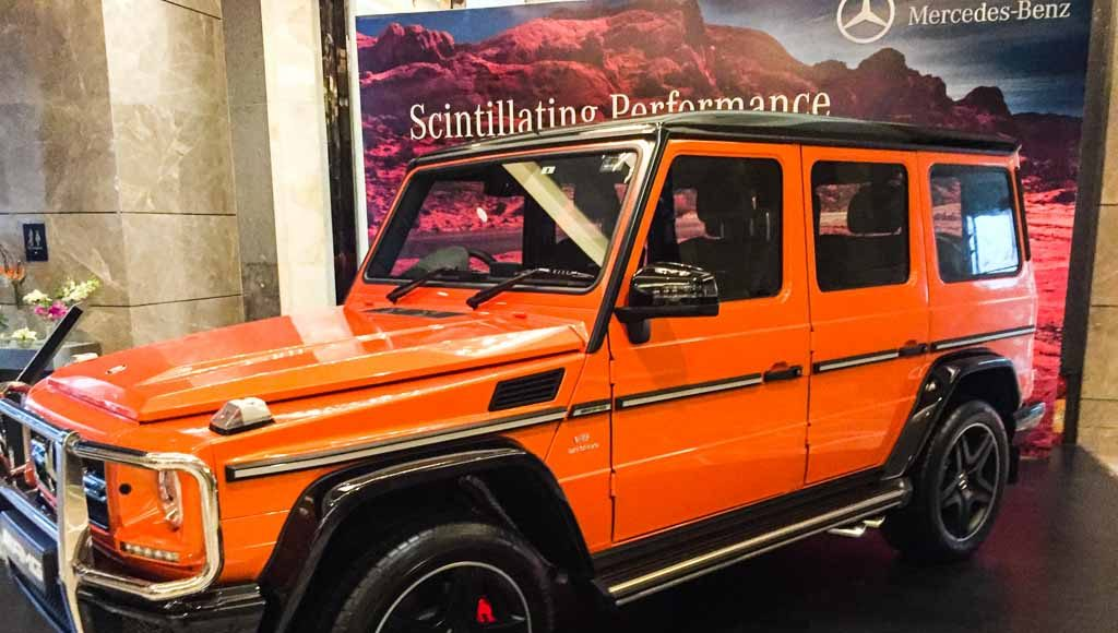 Mercedes-Benz AMG G63 Crazy Colour sunset beam-3