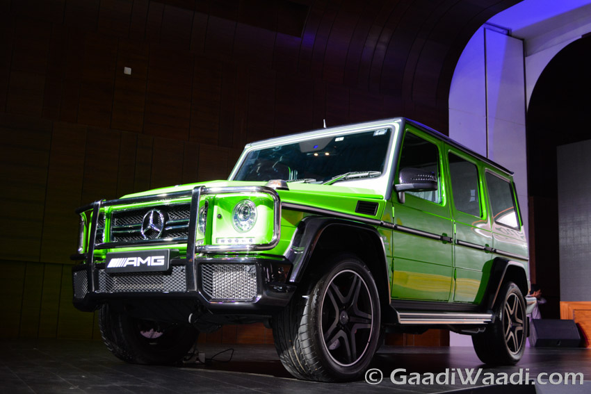 Mercedes-Benz AMG G63 Crazy Colour