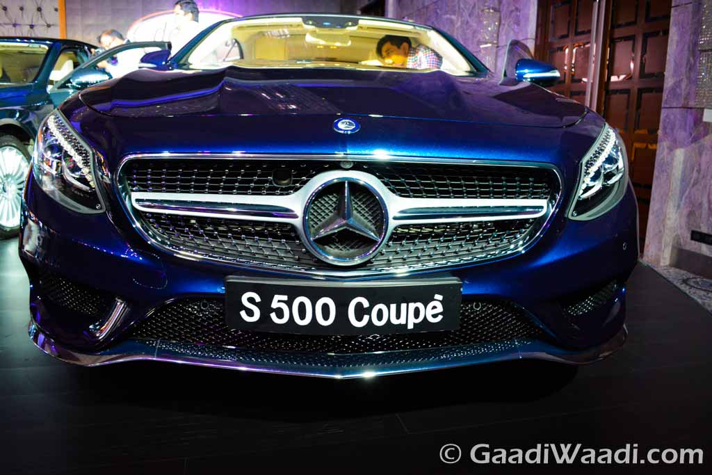 Mercedes benz s500 coupe launched in india - Mercedes benz s class coupe price ...