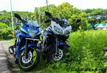 Suzuki Gixxer SF vs Yamaha Fazer Test ride review