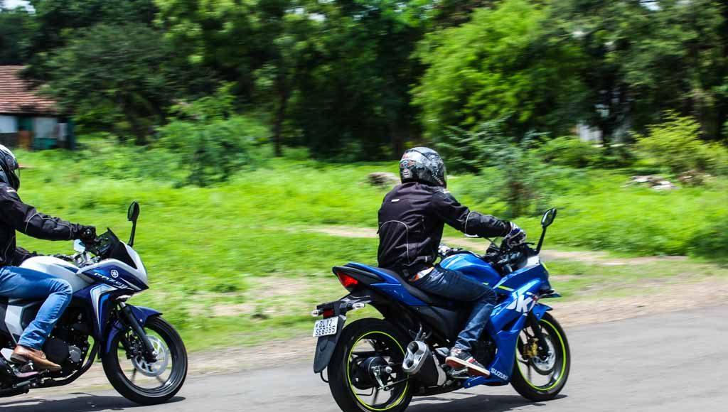 Suzuki Gixxer SF vs Yamaha Fazer dynamics