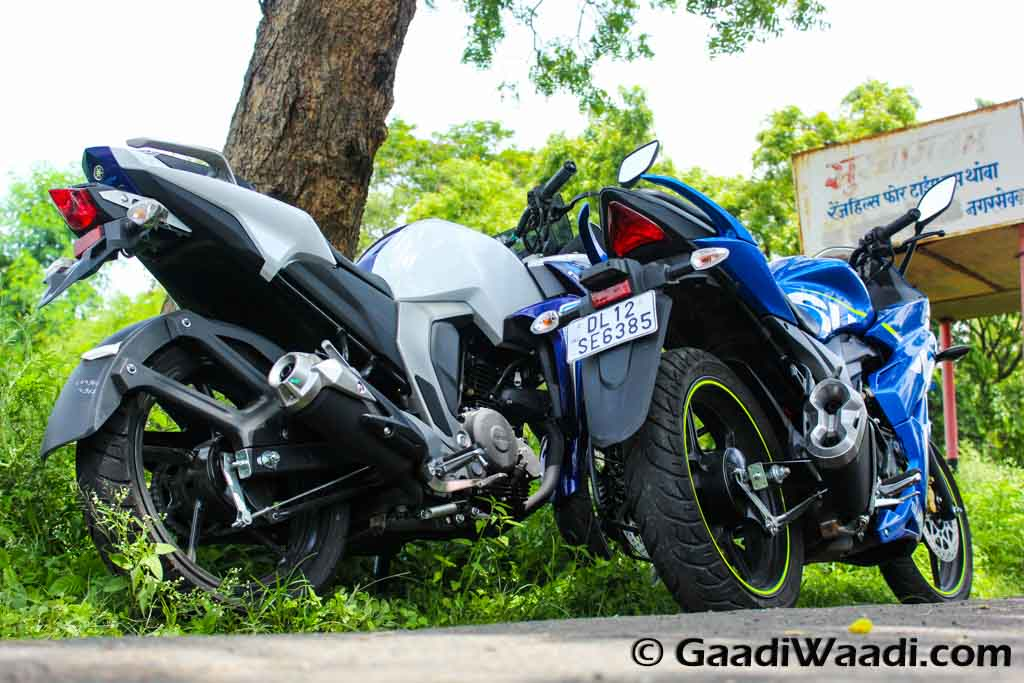 Yamaha Fazer Fi Vs Suzuki Gixxer Sf Comparison Review