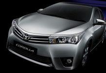 Toyota corolla altis recalled