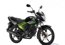 Yamaha Saluto Glory Green