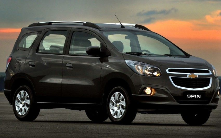 Chevrolet Spin And Trailblazer Unveiled In India