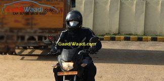 honda 125cc bike spied