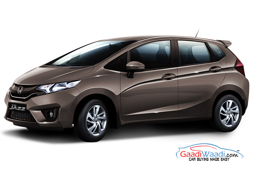 Honda Jazz 2015 in Golden Brown Metallic colour ...