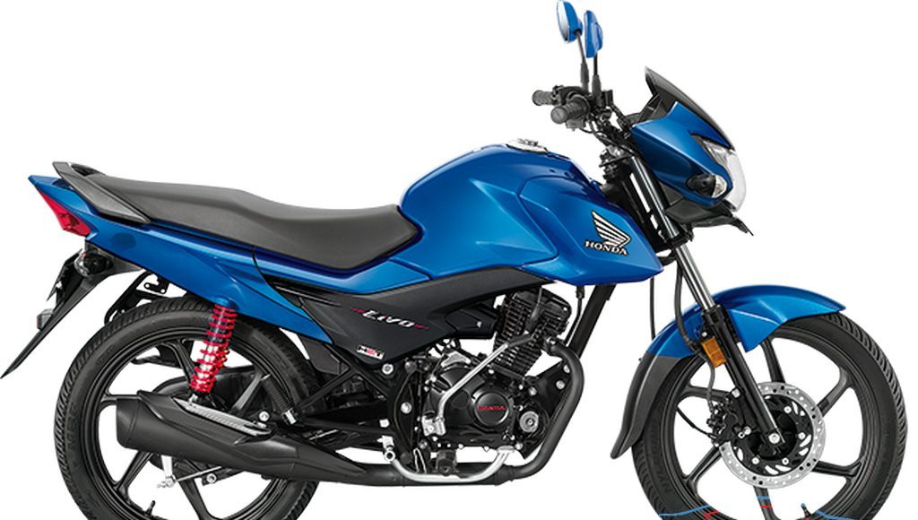 honda Livo Side Blue
