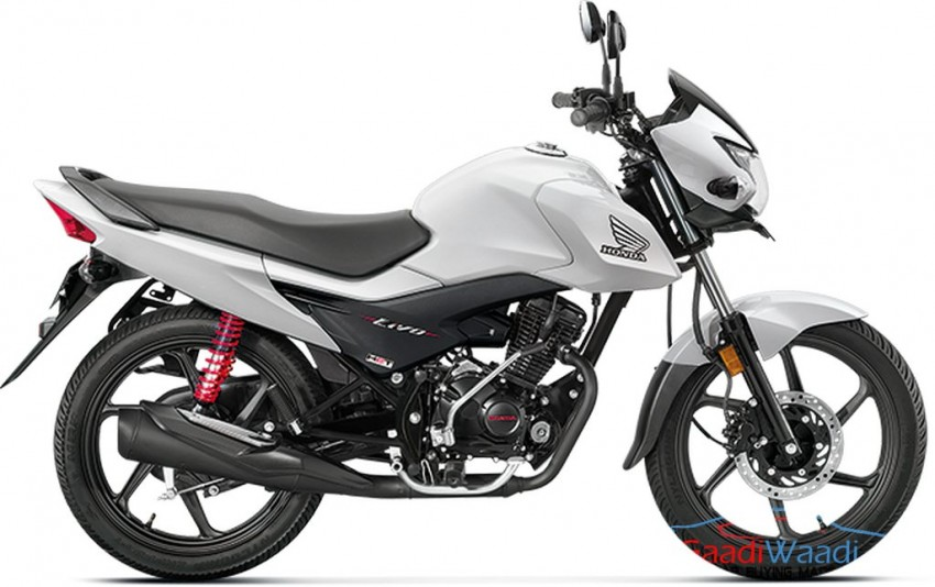 honda Livo Side White