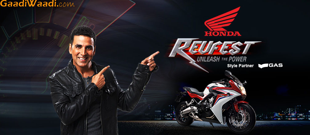 Honda Revfest Website Goes Live Simultaneous Launch In 8 Cities