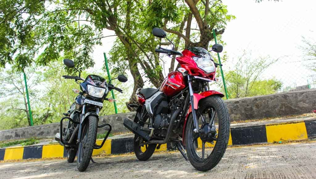 honda shine 125 vs yamaha saluto price