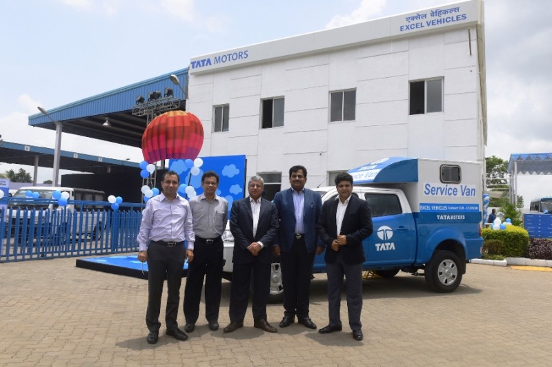 tata excel vehicles 3s facility
