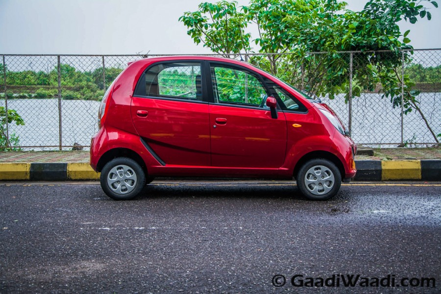 tata nano genx side